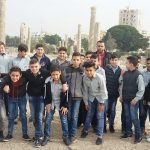 Seven Graders at the Roman Temples / Tyre