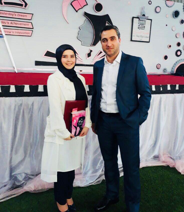 الطّالبة المتفوّقة هديل محمود ديب  تحمل شعلة التّفوّق وتحصد المرتبة الأولى على صعيد الجنوب والثّالثة على صعيد لبنان